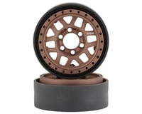 Vanquish Products KMC 1.9 XD229 Machete V2 Beadlock Crawler Wheels (Bronze)