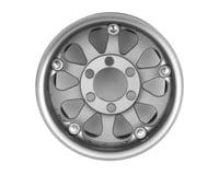 Image 2 for Vanquish Products Method 101 V2 1.9 Beadlock Crawler Wheels (Silver/Black) (2)