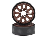 Vanquish Products Method 101 V2 1.9 Beadlock Crawler Wheels (Bronze/Black) (2)