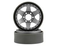 Image 1 for Vanquish Products Method MR310 1.9 Beadlock Crawler Wheels (Silver/Black) (2)