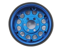 Image 2 for Vanquish Products Method 105 1.9 Beadlock Crawler Wheels (Blue/Black) (2)