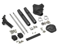 Vanquish Products Wraith/Axial Yeti Currie Rockjock Centered Rear Axle (Black)
