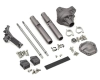 Vanquish Products Wraith/Axial Yeti Currie Rockjock Centered Rear Axle (Grey)