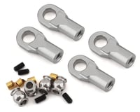 Vanquish Products M4 Machined Straight Rod Ends (Silver) (4)