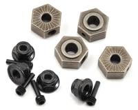 Vaterra Ascender Wheel Hex, Pin & Lock Nut Set (4)