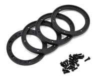 Image 2 for Vaterra 1.9 Beadlock Crawler Wheels w/Rings (2) (Twin Hammers) (Silver/Black)