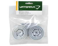 Image 3 for Vaterra 1.9 Beadlock Crawler Wheels w/Rings (2) (Twin Hammers) (Silver/Black)