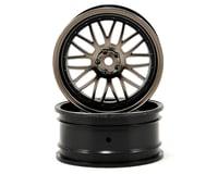 Vaterra V100S 12mm Hex 54x26mm Front Deep Mesh Wheel (2) (Matte Gun)
