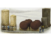 Walthers Industrial Tanks Set