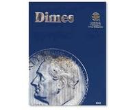 Whitman Coins Dimes Plain Coin Folder