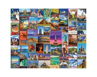 White Mountain Puzzles 1272PZ Best Places in the World 1000pcs