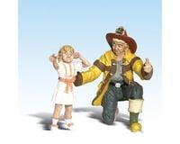 Woodland Scenics G Fireman Bill & Betsy   relatedproducts