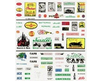 Woodland Scenics Dry Transfer, Railroad Advertisement | relatedproducts