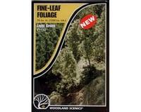 Woodland Scenics Fine Leaf Foliage, Light Green/75 cu. in.