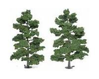 """Woodland Scenics Ready-Made Tree, Medium Green 8-9"""" (2)"""