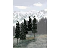 "Woodland Scenics Value Trees, Conifer 6-8"" (12) 