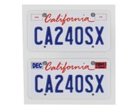 WRAP-UP NEXT REAL 3D U.S. Licence Plate (2) (CA240SX) (11x50mm)
