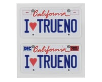 Image 1 for WRAP-UP NEXT REAL 3D U.S. Licence Plate (2) (I LOVE TRUENO) (11x50mm)