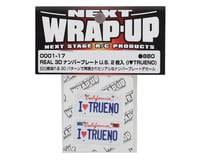 Image 2 for WRAP-UP NEXT REAL 3D U.S. Licence Plate (2) (I LOVE TRUENO) (11x50mm)
