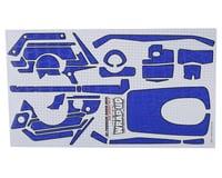 "WRAP-UP NEXT REAL 3D ""Crocodile"" Premium Transmitter Skin (Navy) (Sanwa MT4)"