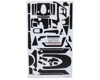 "WRAP-UP NEXT REAL 3D ""Zebra"" Premium Transmitter Skin (Black) (Sanwa M12)"