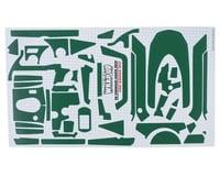 """WRAP-UP NEXT REAL 3D """"Carbon"""" Premium Transmitter Skin (Green) (Sanwa M12)"""