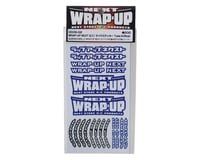 Image 2 for WRAP-UP NEXT Logo Tire Sticker (Blue) (Type-A) (140x80mm)