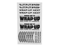 WRAP-UP NEXT Logo Tire Sticker (Black) (Type-B) (140x80mm) | relatedproducts