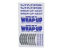 WRAP-UP NEXT Logo Tire Sticker (Blue) (Type-B) (140x80mm) | relatedproducts