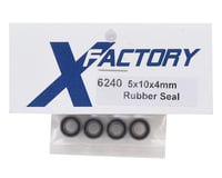 Image 2 for X Factory 5x10x4mm Rubber Sealed Bearing (4)