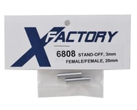 Image 2 for X Factory 3x20mm Standoff (2) (Female/Female)
