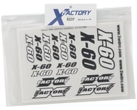 Image 2 for X Factory X-60 Decal Sheet