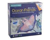 PlaySTEAM Ocean Friends Hammerhead Shark & Manta Ray