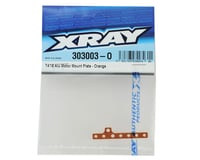 Image 2 for XRAY T4 2018 Aluminum Motor Mount Plate (Orange)