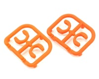XRAY T4 2015 3.5mm Plastic Drive Pin Clips (4) (Orange)