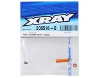 Image 2 for XRAY T4 2014 Aluminum Top Deck Mount (Orange)