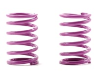 XRAY T1 Rear Shock Spring Set D=1.8 (33lb - Medium/Hard) (Purple) (2)