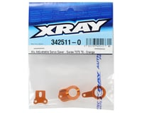 Image 2 for XRAY Aluminum Adjustable Servo Saver (Orange)