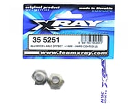 "Image 2 for XRAY Aluminum Wheel Axle Offset ""+1mm"" - Hard Coated (2)"