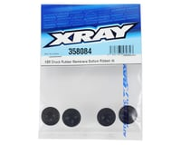 Image 2 for XRAY XB8 Shock Rubber Membrane (4) (Bottom Ribbed)