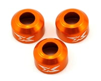 XRAY XB4 Aluminum Driveshaft Safety Collar (Orange) (3)