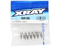 Image 2 for XRAY Front Shock Spring Set (C=0.80/4-Dots) (2)