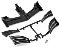 XRAY X1 2020 2018 ETS Composite Adjustable Front Wing (Black)