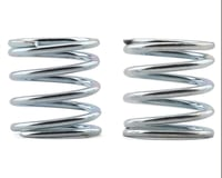 Xray X12 4mm Pin Front Coil Spring (Silver) (2) (C=1.8 - 2.0)