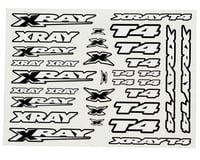 XRAY T4 Sticker Decal Sheet (White) | alsopurchased