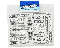 Image 2 for XRAY T4 Sticker Decal Sheet (White)