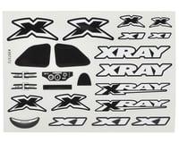 XRAY X1 Sticker Sheet (White)
