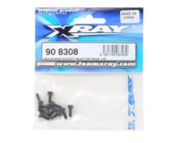 XRAY 3x8mm Cap Hex Hex Screw (10)