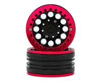 Xtra Speed 1.9 Aluminum Iron Clock Mass Beadlock Wheel (Red) (2) | relatedproducts