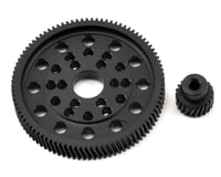 Xtra Speed SCX10/Wraith Delrin Helical Spur & Pinion Gear Set (92/20T) | relatedproducts